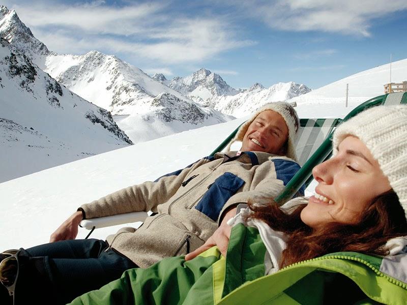 Vacaciones de invierno en la nieve