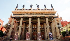 El Teatro Juárez guanajuato